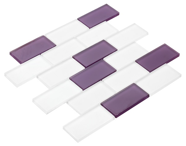 48x98 CR2015 Cam Kristal Mozaik
