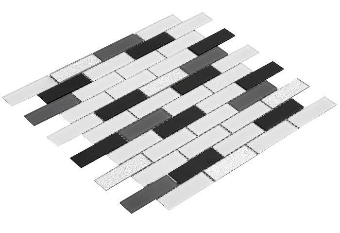 23x73 CR0107 Cam Kristal Mozaik