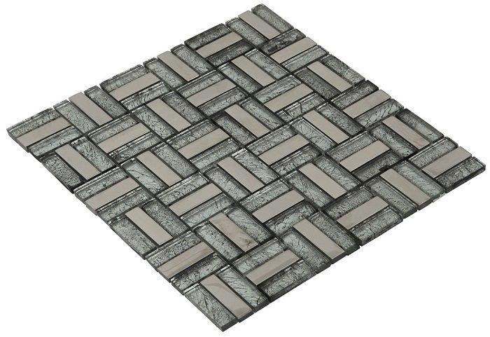 15x48 CR3103 Cam Kristal Mozaik