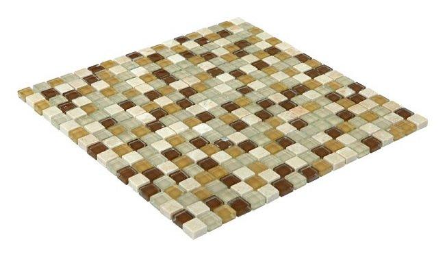 15x15 CR4106 Cam Kristal Mozaik