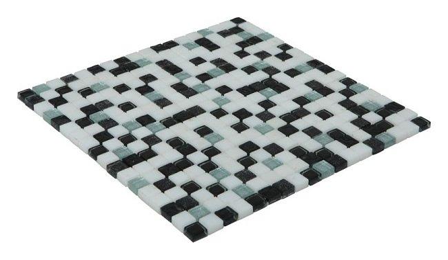 15x15 CR4112 Cam Kristal Mozaik