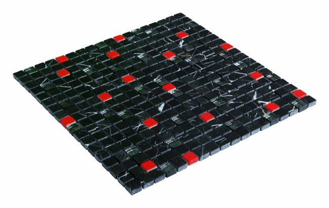 15x15 CR4114 Cam Kristal Mozaik