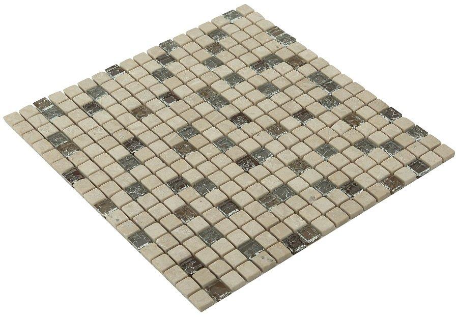 15x15 CR4115 Cam Kristal Mozaik