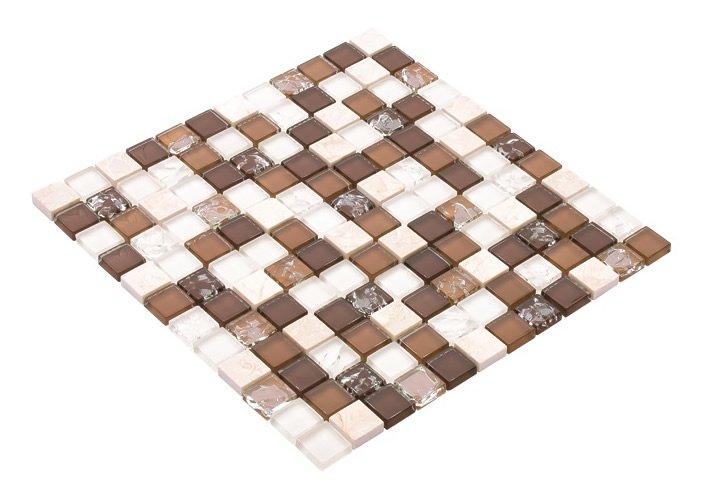 23x23 CR5041 Cam Kristal Mozaik