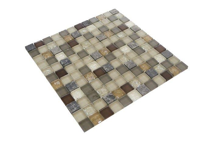 23x23 CR5072 Cam Kristal Mozaik