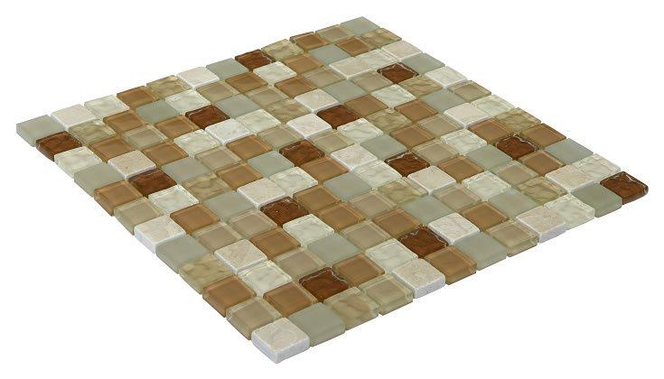 23x23 CR5074 Cam Kristal Mozaik
