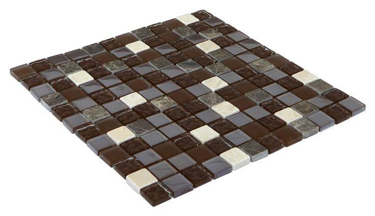 23x23 CR5075 Cam Kristal Mozaik