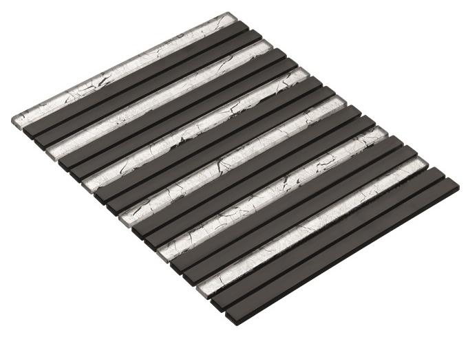 BLACK CR7502 Cam Kristal Mozaik