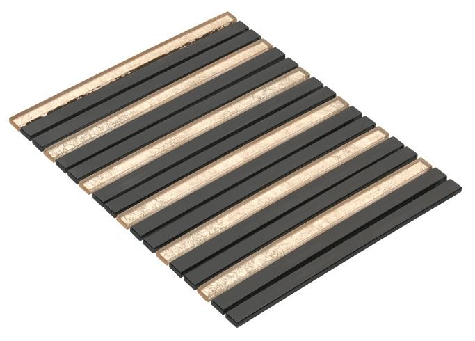 BLACK CR7503 Cam Kristal Mozaik
